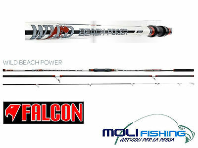 CANNA SURFCASTING FALCON WILD BEACH POWER 4.50m - 160g - 3 PEZZI - NOVITA' 2015