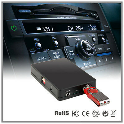 USB AUX SD MP3 Player adapter for Honda Civic CRV CRZ Insight Odyssey