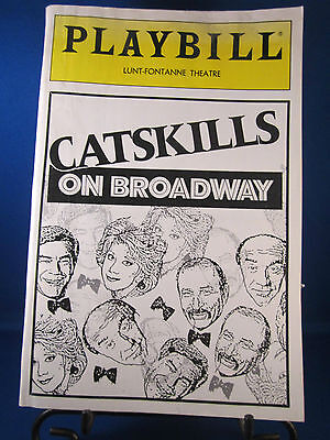 "Playbills 1990's ""CATSKILLS ON BROADWAY"" for The Lunt-Fontanne June 1992 L@@K!!"