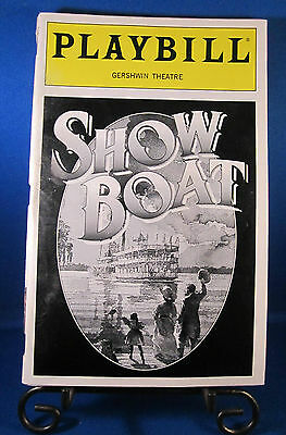 "Playbills 1990'S ""SHOWBOAT"" for The Gershwin Theatre February 1995 L@@K!!!"