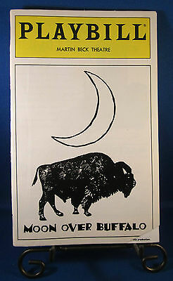 "Playbills 1990'S ""MOON OVER BUFFALO"" for The Martin Beck February 1996 L@@K!!"