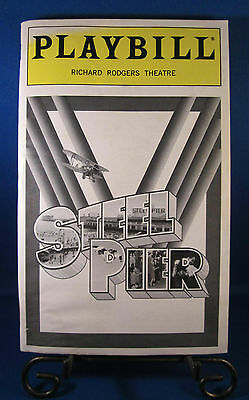 "Playbills 1990'S ""STEEL PIER"" for The Richard Rodgers Theatre June 1997 L@@K!!"