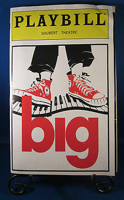"Playbills 1990'S ""big"" for The Sam S. Shubert Theatre April 1996 Check it @UT!!"