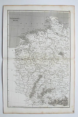 1807 Arrowsmith Antique Map West Germany