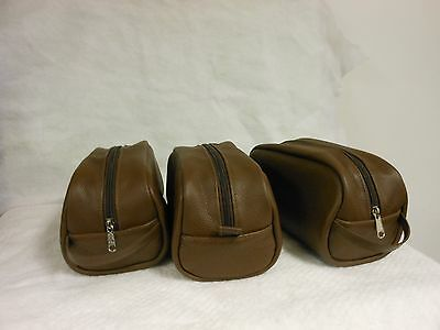 Made in USA Leather Dopp Kit