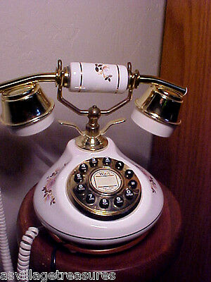 VINTAGE 1970'S PARIS APARTMENT CHIC PUSH BUTTON FRENCH STYLE TELEPHONE PHONE