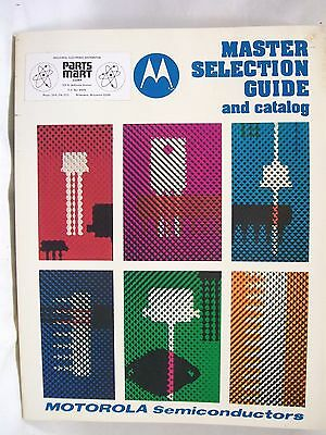 MOTOROLA Master Selection Guide and Catalog, 1977, for Motorola Semiconductors
