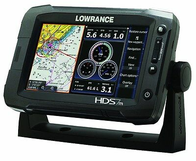Lowrance HDS-7m Gen2 Touch Insight Chartplotter - 000-10761-001