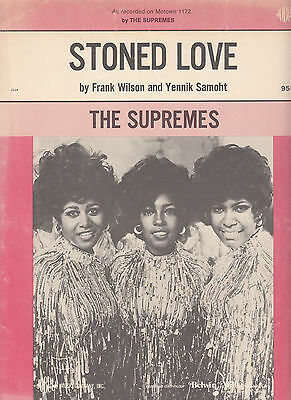 SUPREMES~STONE LOVE ~ Sheet Music