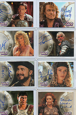 Xena Seasons Beauty & Brawn Quotable Autograph And Costume Card Selection NM