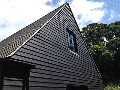 Barn Paint Woodtech BARNJACKET® Black Opaque High Performance Acrylic Woodstain