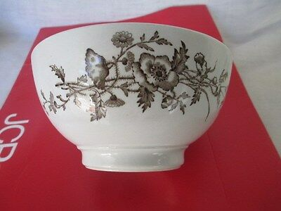 J & G  Meakin  Ironstone Mush Bowl * 1890's Royal ARMS * ESSEX Hanley England
