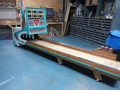 1965 Chicago Coin SUPER SONIC Big Ball Bowler Bowling Alley 16'