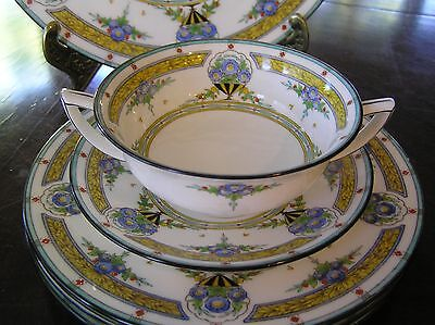 Minton from 1923 Selkirk 7 Piece Place Setting w/ Cream Soup 8 Avail. HUGE SALE