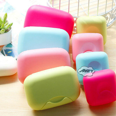 Travel Soap Dish Case Holder Container Box For Home Outdoor Hiking Camping Beach