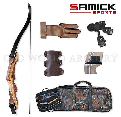 Samick Sage Take Down Recurve Bow 30# Starter Package Right Handed