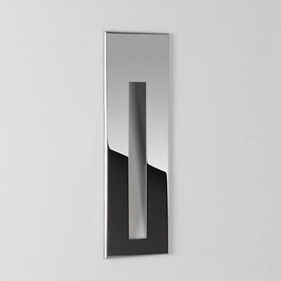 Indoor Recessed Dimmable LED Wall Light Guide Stair Chrome ASTRO 0971 BORGO 55