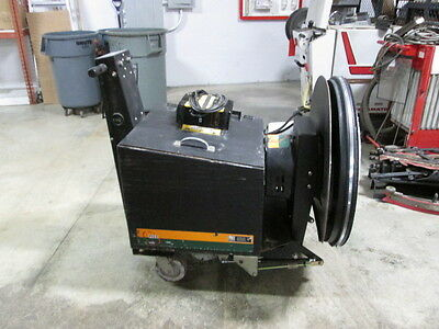 """27"""" NSS Charger 2717 DB Battery Floor Burnisher w/ New Batteries, etc."""