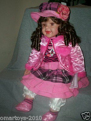 """KINNEX DOLL Collection Vinyl Doll 20"""" ( NORA ) Great for Gift,Collection."""