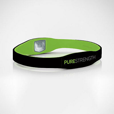 Purestrength Ionic Healthy Wristband Negative Ion infused Oxygen Reversible Pure