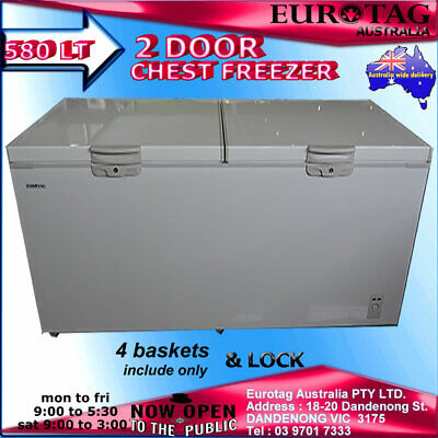 Eurotag 780Lt Commercial Chest Freezer Rrp$2299.00 :Eu-780  Brand New Save