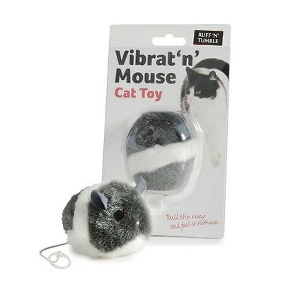 Vibrating Mouse Cat Toy Kitten Interactive Vibrat 'n' Mouse