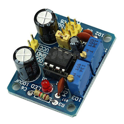Hot NE555 Duty Cycle and Frequency Adjustable Square Wave Module DIY Kit