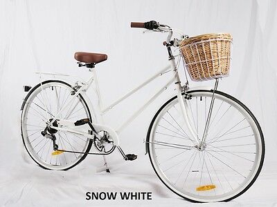 Samson Cycles 7Speed Snow White  Vintage Ladies Bike