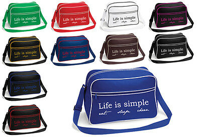 Cheerleading Tasche bedruckt Life is Trainingstasche Cheerleader versch. Farben