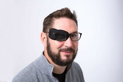 Medical Glasses Patch, PLAIN, LARGE,  Right or Left eye