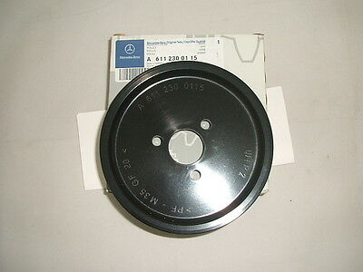 Genuine Mercedes-Benz Power Steering Pump Pulley A6112300115 NEW