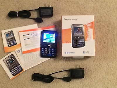 Pantech Slate C530 (Unlocked) - Black (AT&T) Cellular Phone