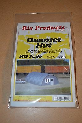 Rix Products HO Scale #628-0410 Quonset Hut NEW