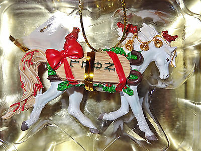~NEW~ NOEL Horse of a Different Color Christmas Ornament #20634