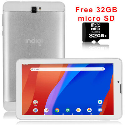 """UNLOCKED 3G Phablet 7"""" Android 4.4 SmartPhone Tablet PC 2in1 ~32GB micro SD FREE"""