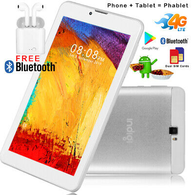 """Unlocked 7.0"""" Tablet 4G Smart Phone Android 9.0 Bluetooth WiFi Google Play Store"""