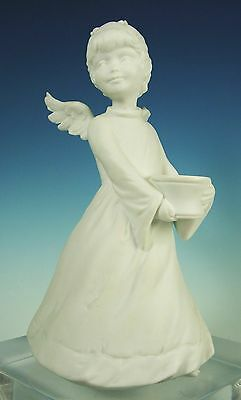 Exquisite White Porcelain Standing Angel /W.Germany/Kaiser/Figurine/Vintage