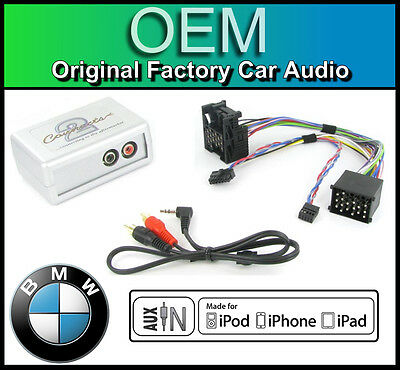 BMW 3 Series E46 AUX in lead Car stereo iPod iPhone player adapter connection