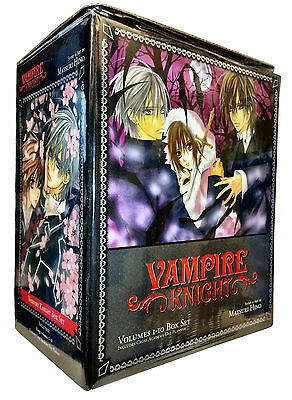 Vampire Knight Collection 10 Books Box Set (Vol 1-10) Matsuri Hino 9781421539508