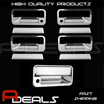For Chevrolet Suburban 1992-1999 Chrome Door Handle Cover & Tailgate Cover A-D