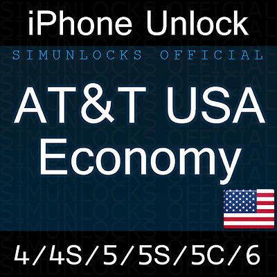 Factory Unlock iPhone 5 4S 4 AT&T - iPhone Factory Unlock Service AT&T USA