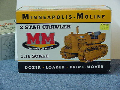 Minneapolis Moline 2 Star Crawler, 1/16, Die-Cast