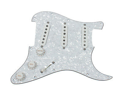 Fender Tex-Mex 920D Loaded Pre-wired Strat Pickguard WP/WH
