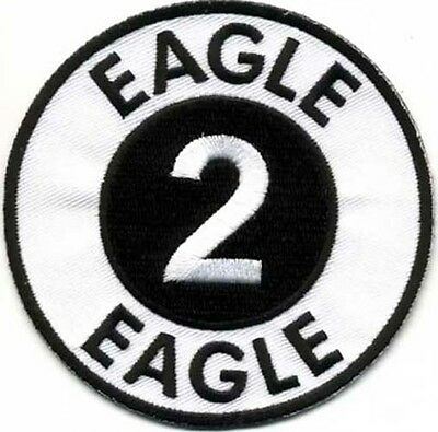 "Space:1999  Eagle 2 Logo  3.5"" DELUXE Uniform Patch- FREE S&H  (SPPA-1902)"