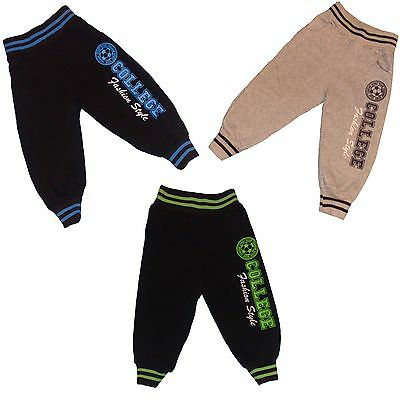 Boys full length WARM pants/trousers/tracksuit/jogging bottom WINTER #83