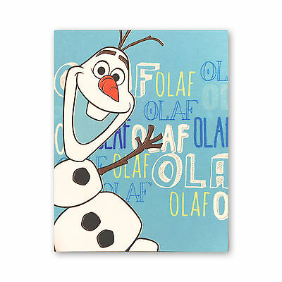 Disney's Frozen Olaf the Snowman Fleece Blanket Throw Boys & Girls