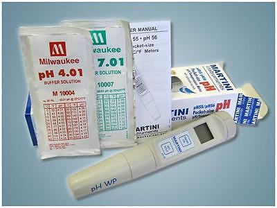 Milwaukee Instruments Ph55 Waterproof Ph/temperature Tester/meter Pocket-Size