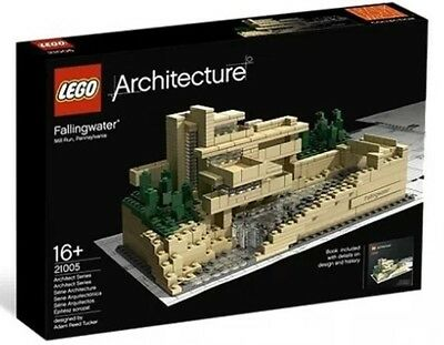 Lego 21005 Architecture Fallingwater - Brand New, Sealed,FREE Expedited SHIPPING