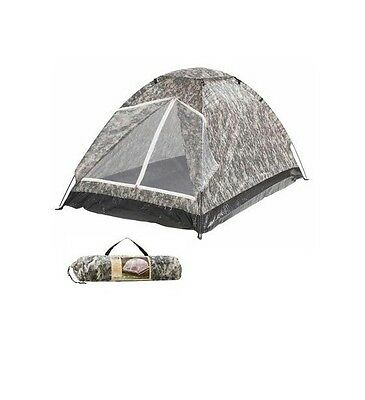 Digital camo TENT 2 person man childrens kids youth adult camping sleepover ARMY