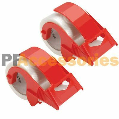 "2x 2"" Packing Tape Hand Dispenser for House Moving Shipping Box + Packaging Tape"